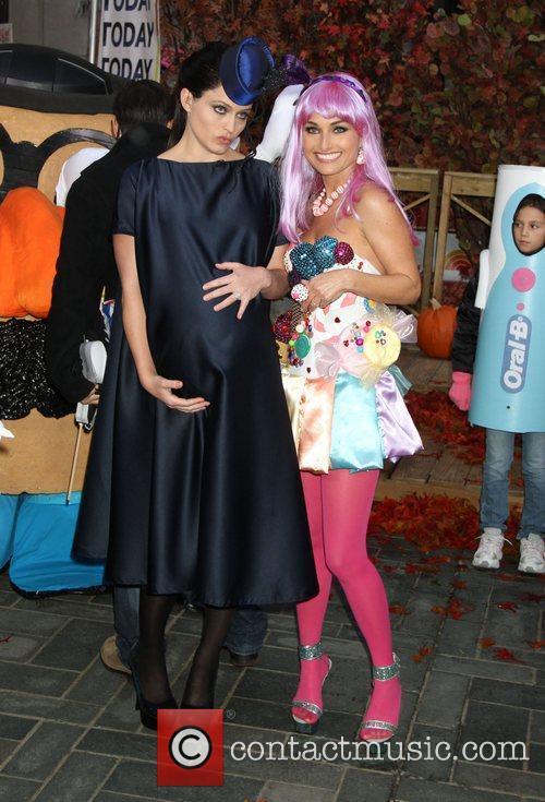 Sarah Haines and Giada De Laurentiis dress up...