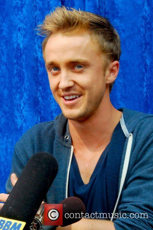 Harry Potter and Tom Felton 13
