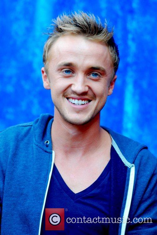 Harry Potter and Tom Felton 1