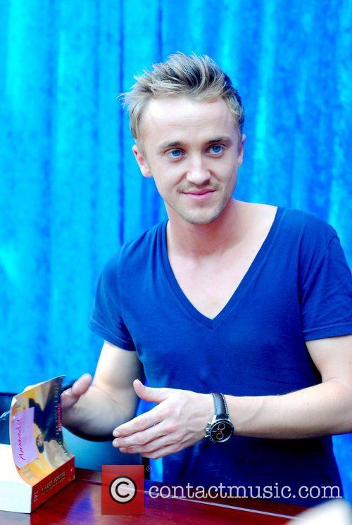 Harry Potter and Tom Felton 7