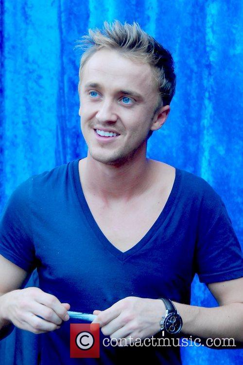 Harry Potter and Tom Felton 2