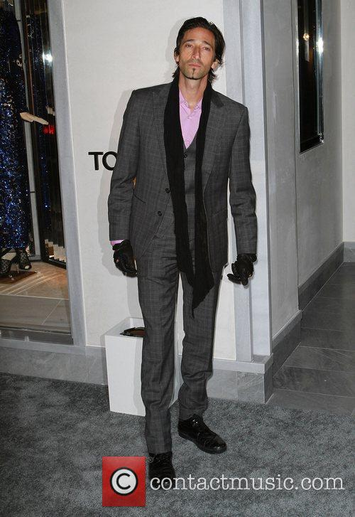 Adrien Brody, Celebration and Tom Ford 1