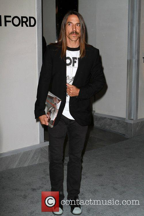 Anthony Kiedis, Celebration and Tom Ford 5