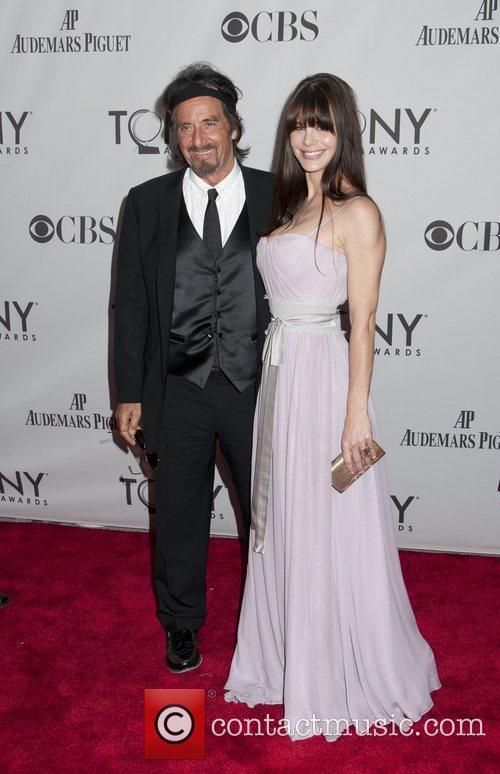 Al Pacino and Lucila Polak  The 65th...