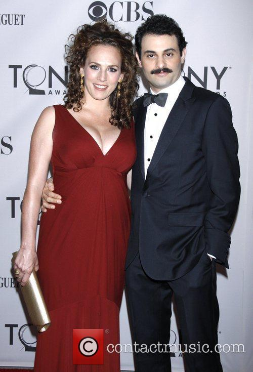 Krissy Shields and Arian Moayed The 65th Annual...