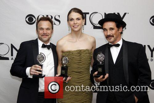 Sutton Foster and Mark Rylance 8