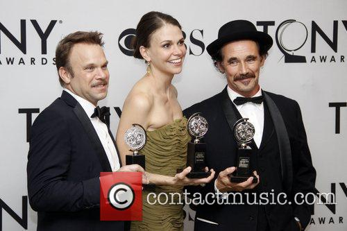Sutton Foster and Mark Rylance 10