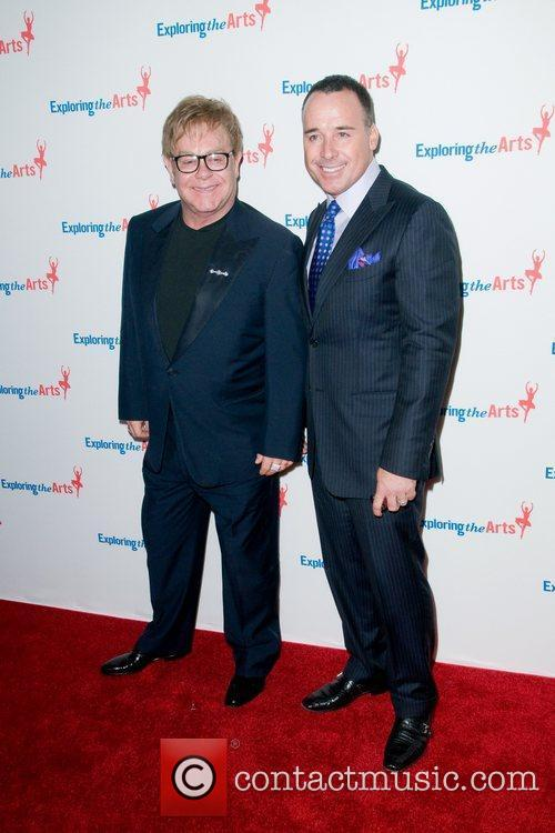 Elton John and David Furnish 5