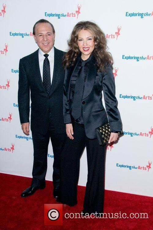 Tommy Mottola and Thalia 1