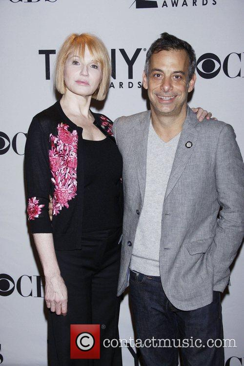 Ellen Barkin and Joe Mantello 4