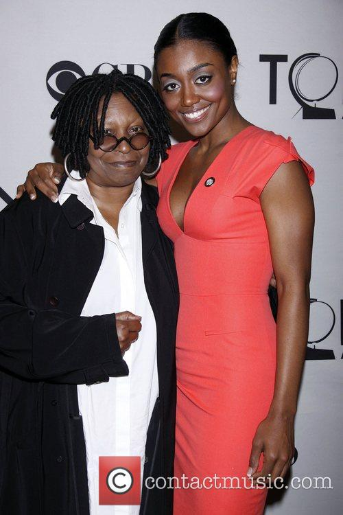 Whoopi Goldberg and Patina Miller, who plays the...