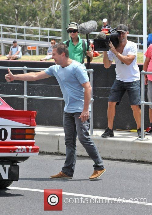 Top Gear Australia organise a special on track...