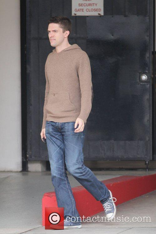 Topher Grace  out shopping in Beverly Hills...