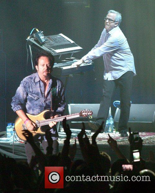 Steve Lukather, Steve Porcaro TOTO performing at the...