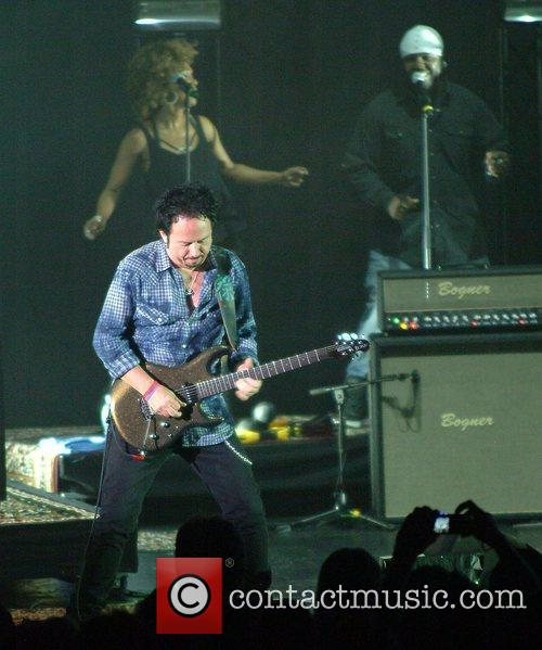 TOTO performing at the Hammersmith Apollo