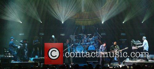 TOTO performing at the Hammersmith Apollo  London...