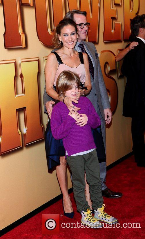 Sarah Jessica Parker, Matthew Broderick and Ziegfeld Theatre 2