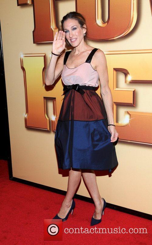 Sarah Jessica Parker and Ziegfeld Theatre 5