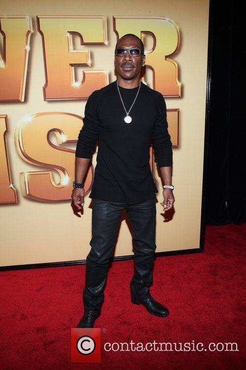 Eddie Murphy and Ziegfeld Theatre 1