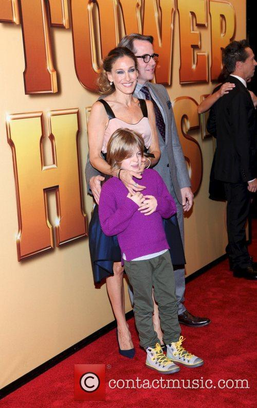 Sarah Jessica Parker, Matthew Broderick and Ziegfeld Theatre 1