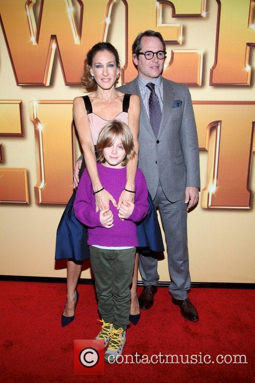Sarah Jessica Parker, Matthew Broderick and Ziegfeld Theatre 9