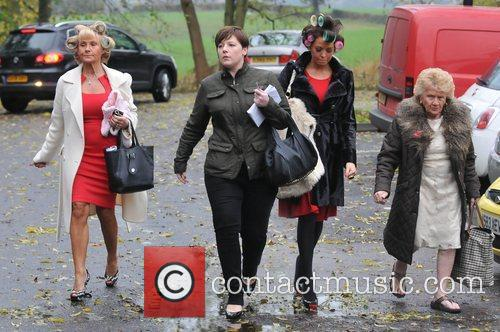 Carol Wright, Jessica Wright and Nanny Pat The...