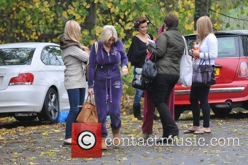 Billie Faiers and Maria Fowler The cast of...