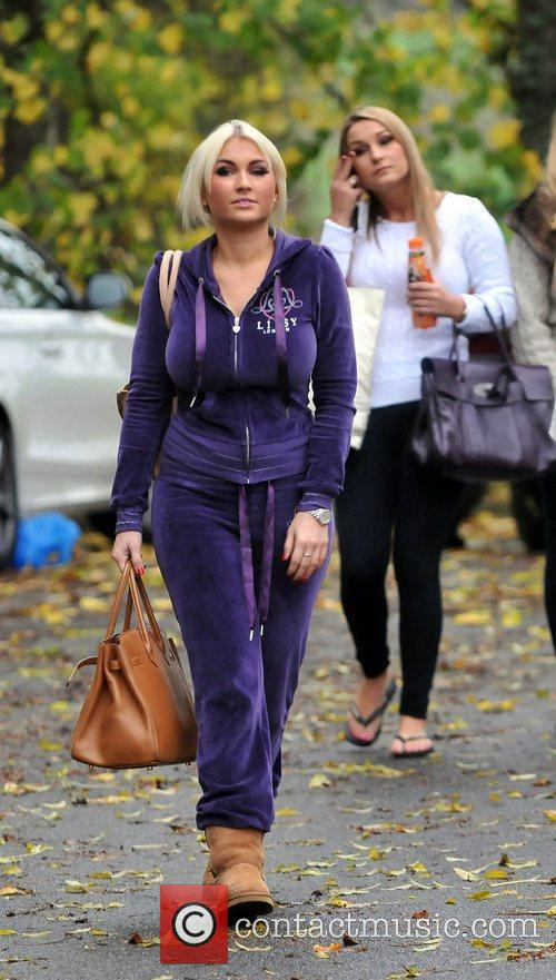 Billie Faiers and Sam Faiers The cast of...