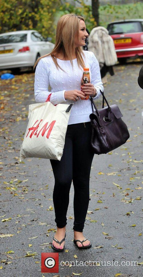 Sam Faiers The cast of The Only Way...