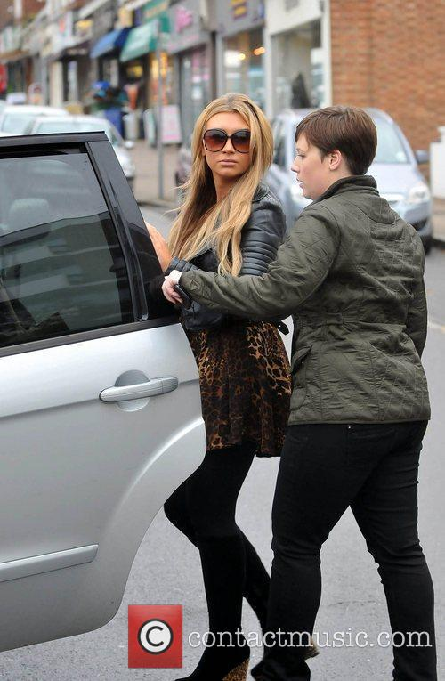 Lauren Goodger The cast of The Only Way...