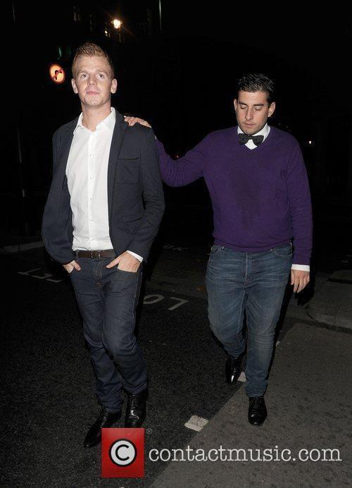 James Argent leaving Aura nightclub appearing rather worse...