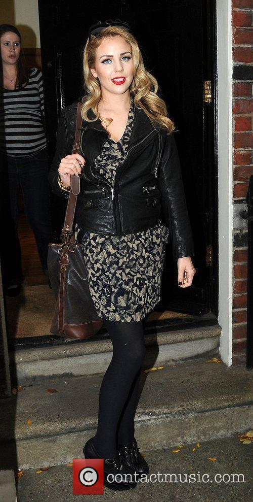 Arriving at a meeting in central London