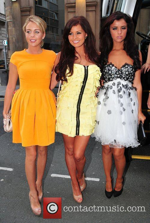 Lydia Bright, Jessica Wright and Lucy Mecklenburgh Cast...