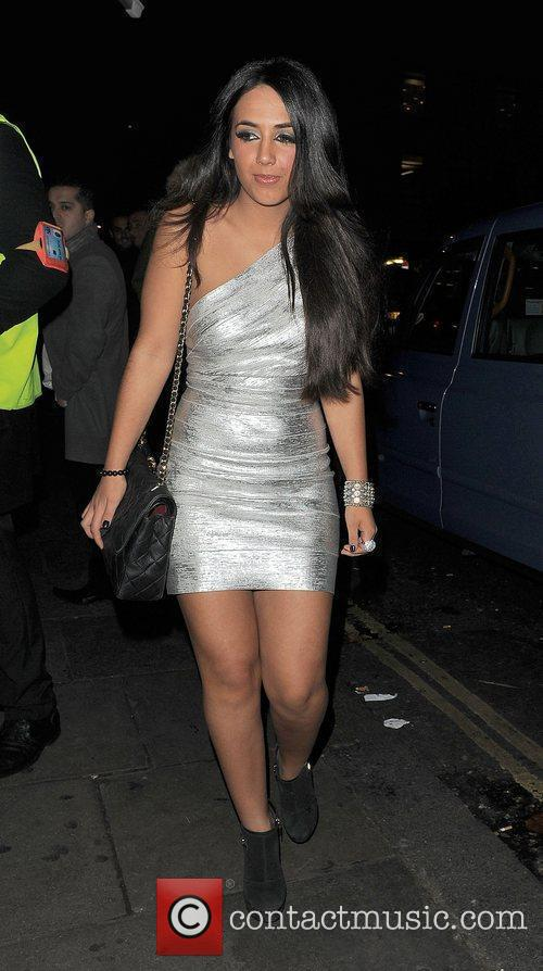 The Only Way is Essex star Peri Sinclair...
