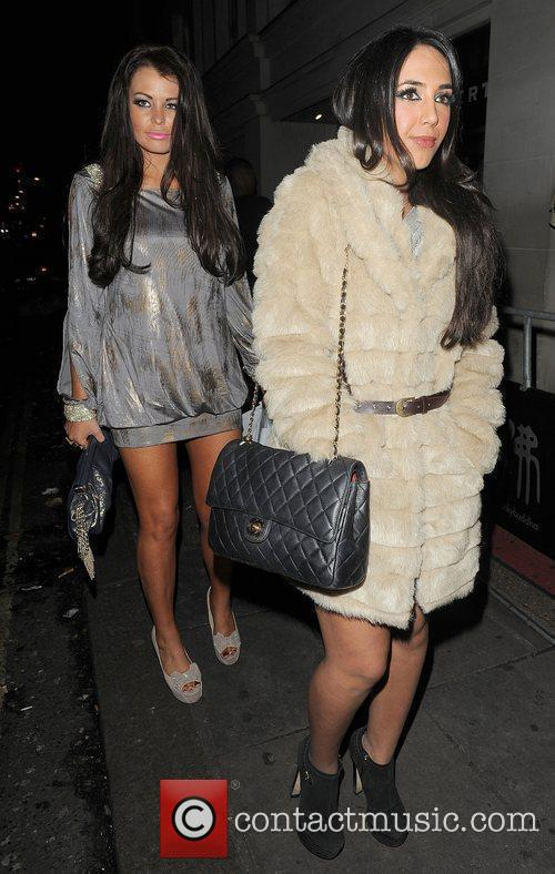 The Only Way is Essex stars Jessica Wright...