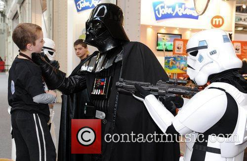 Darth Wader and Stormtroopers The Toy Fair 2011...