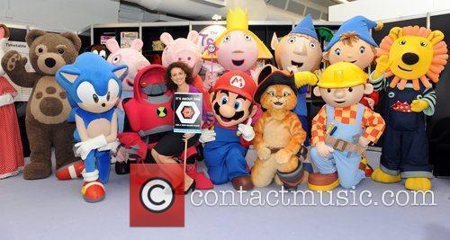 Nadia Sawalha  The Toy Fair 2011 at...
