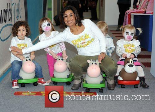Saira Khan The Toy Fair 2011 at Olympia...