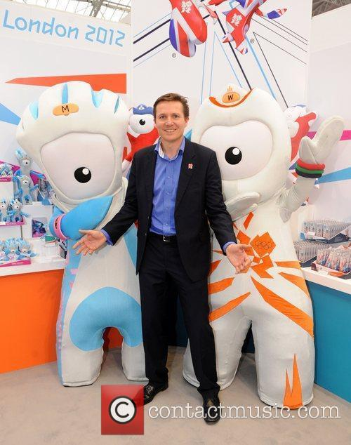 Roger Black  The Toy Fair 2011 at...