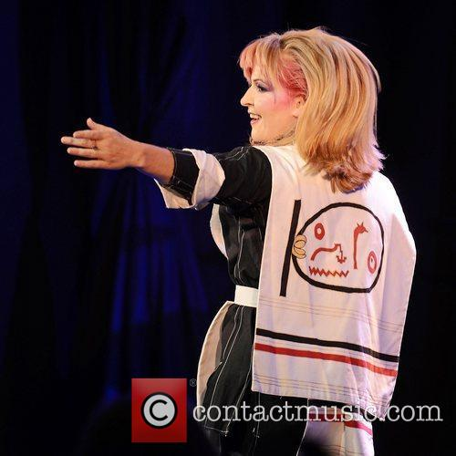 Toyah Wilcox  performing at Leicester Square Theatre...
