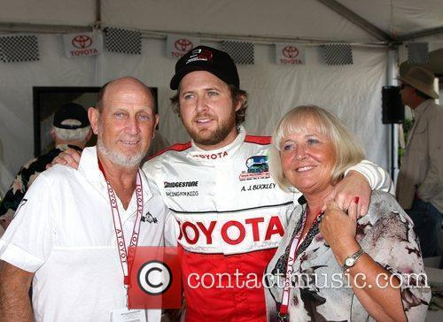 AJ Buckley with his parents The 2011 Toyota...