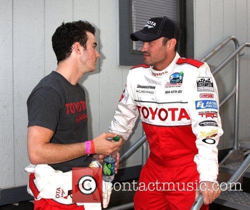 The 2011 Toyota Grand Prix Pro Celebrity Race...
