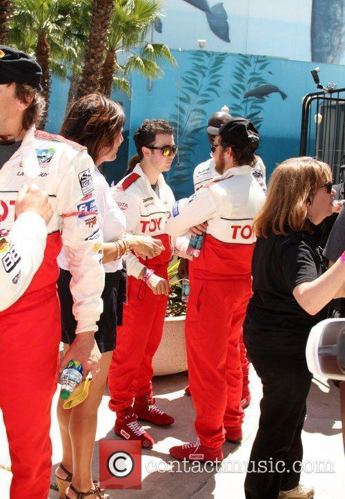 Kevin Jonas and AJ Buckley The 2011 Toyota...