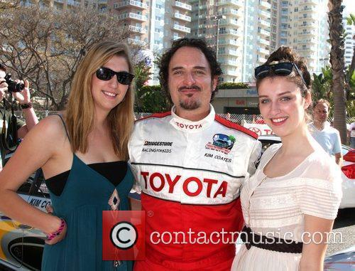 Kim Coates and daughters The 2011 Toyota Grand...