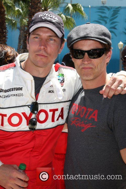 Michael Trucco and Stephen Moyer The 2011 Toyota...