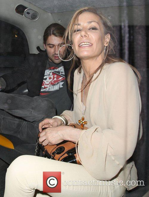 Tara Palmer-tompkinson and David Garrett 5