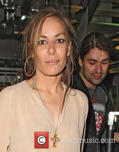 Tara Palmer-tompkinson and David Garrett