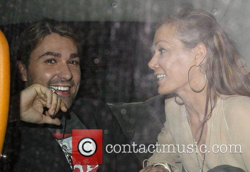 Tara Palmer-tompkinson and David Garrett 8