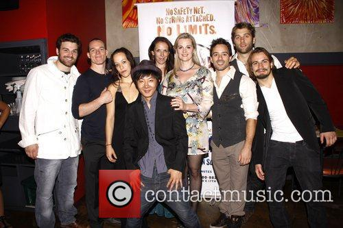 Opening night after party for the Off-Broadway production...