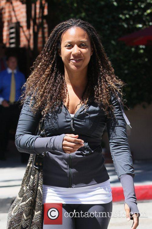 Tracie Thoms out shopping in Beverly Hills Los...